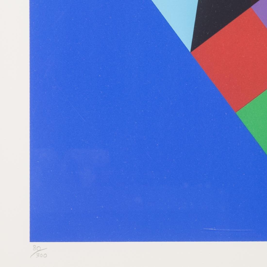 "Victor Vasarely. ""Torony III"", serigraph - 4"