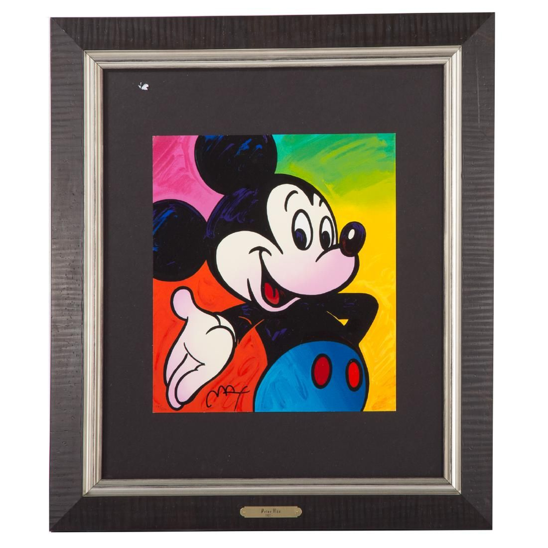 """Peter Max. """"Mickey Mouse,"""" serigraph"""