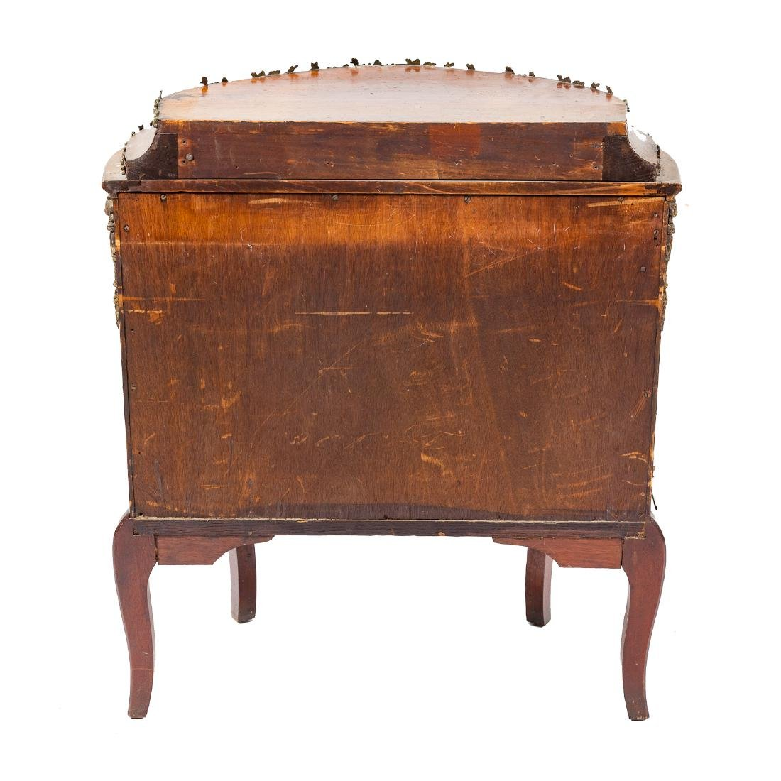 Louis XV style kingwood brass-mounted commode - 5