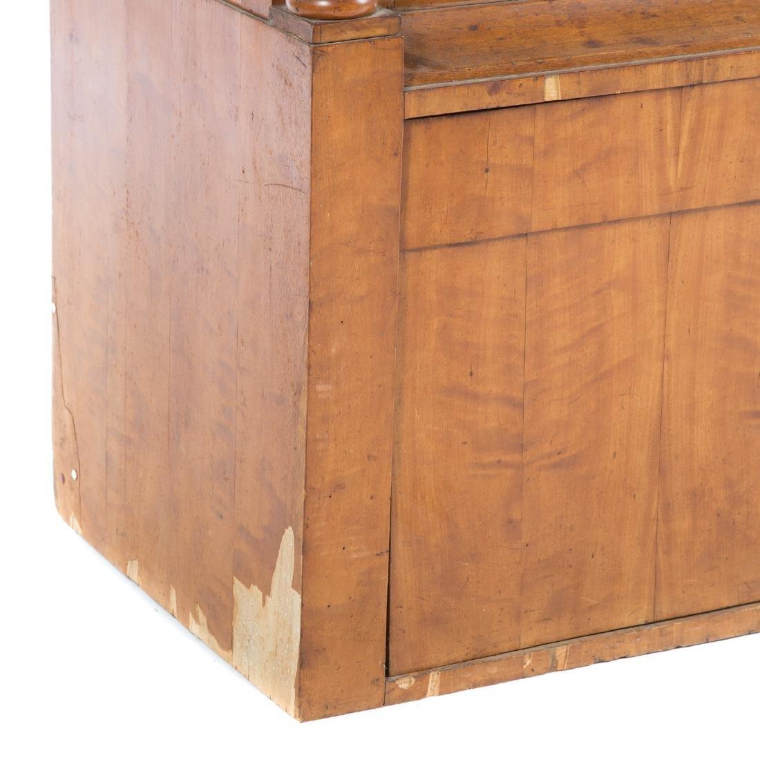 German/Austrian Biedermeier fruitwood vitrine - 3