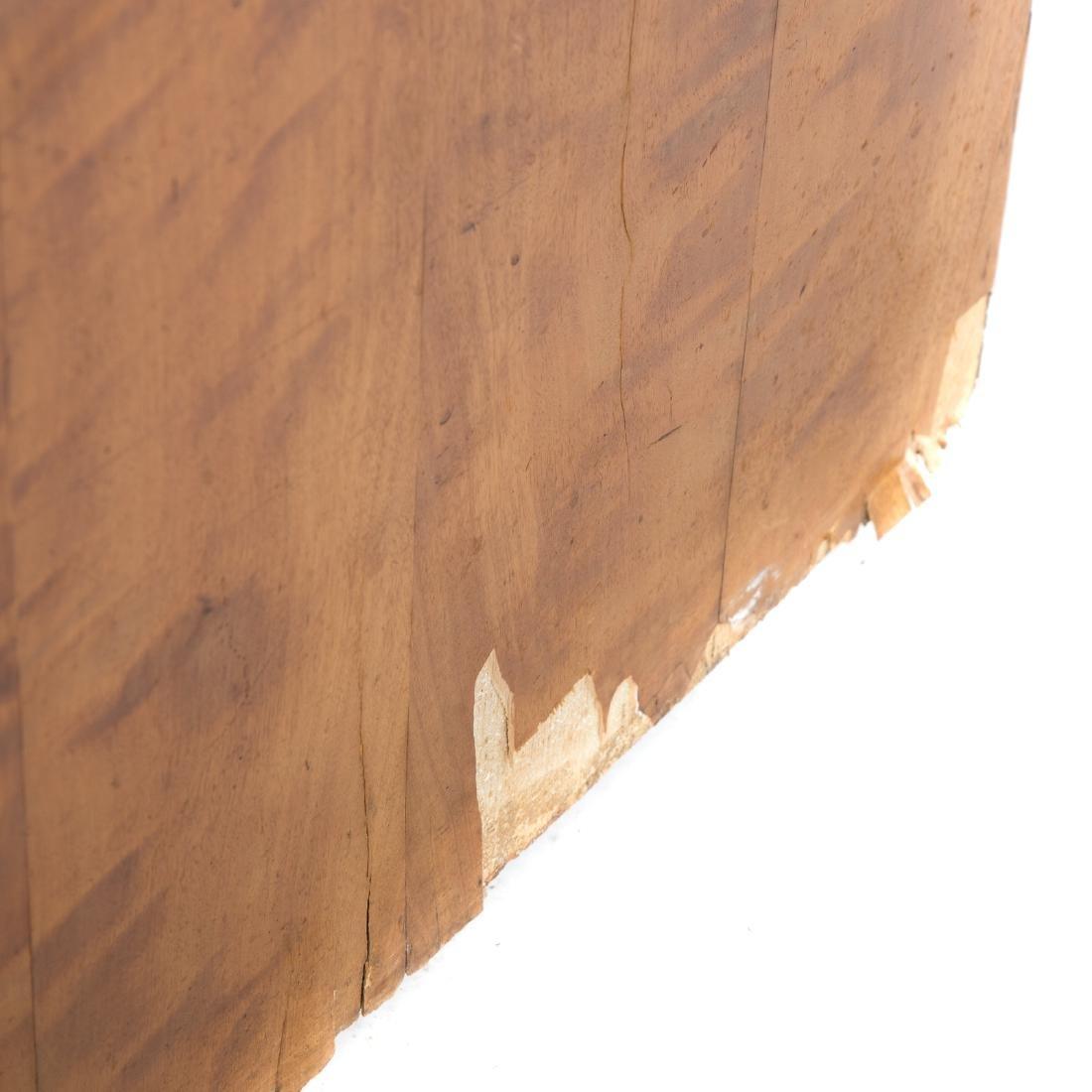 German/Austrian Biedermeier fruitwood vitrine - 6
