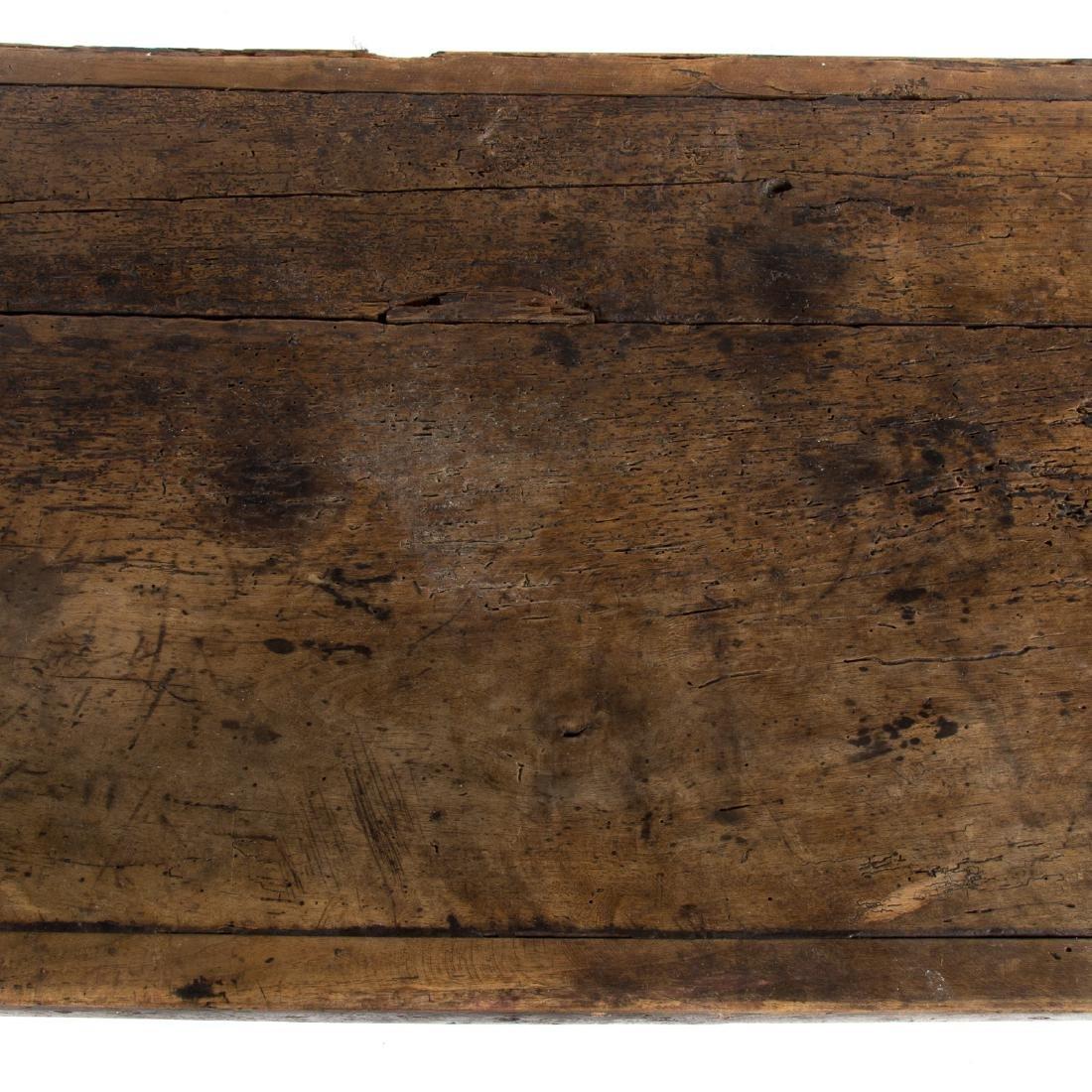 Italian walnut refectory table - 3