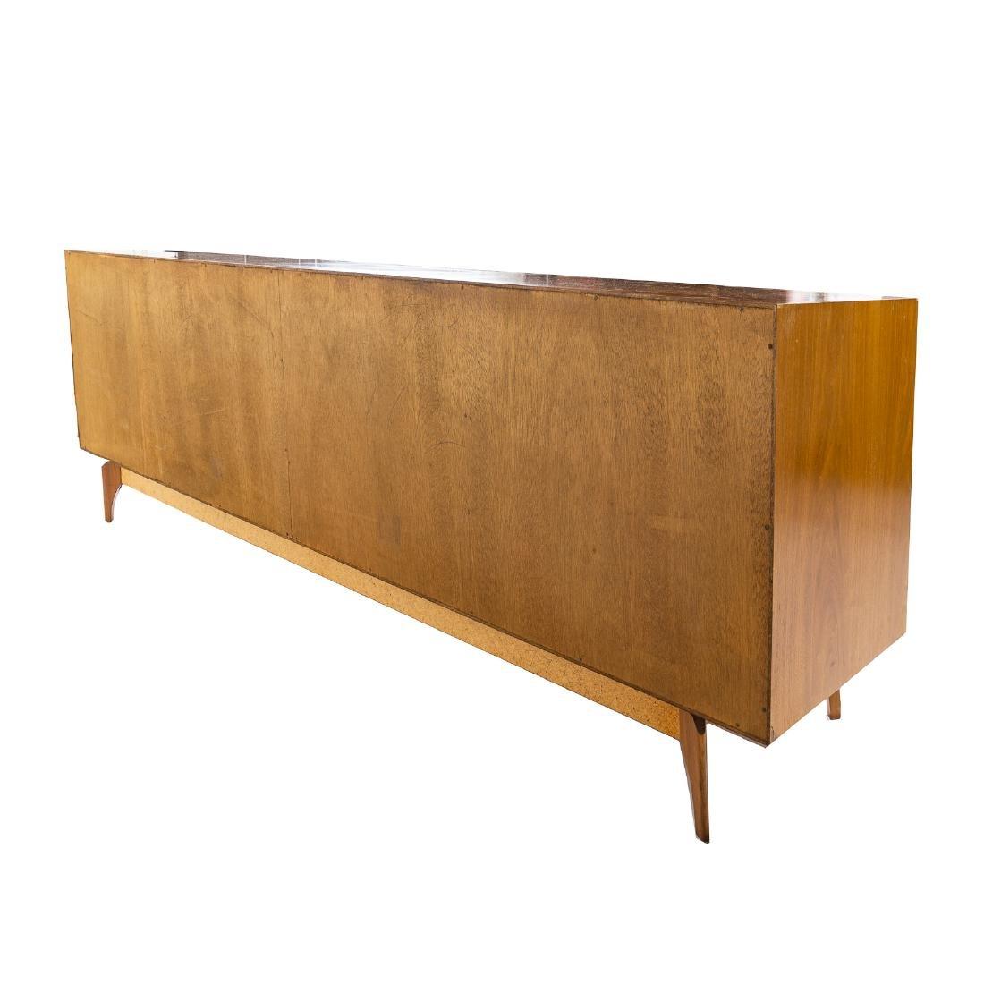 Cabinet-made Mid-Century Modern teakwood credenza - 5