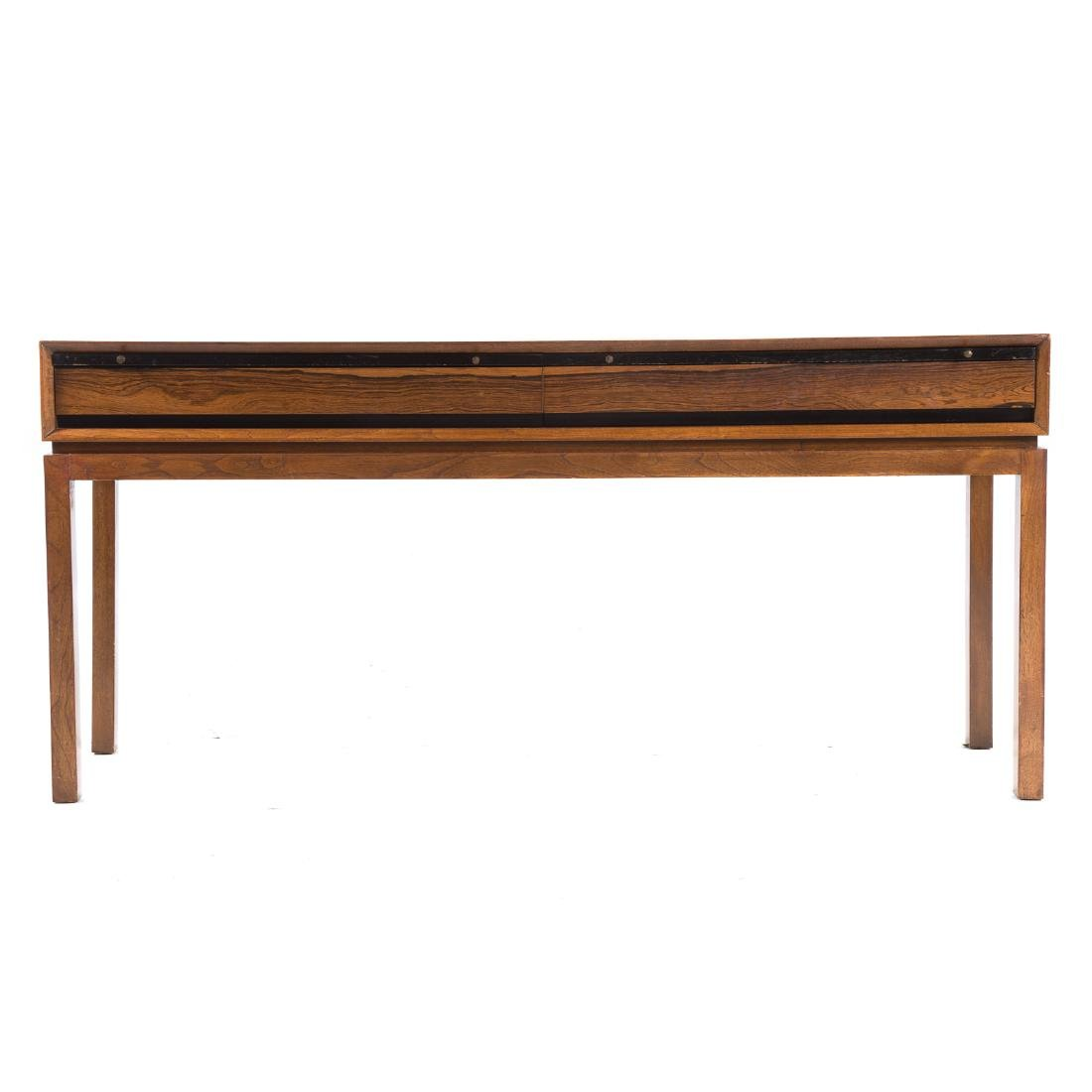 Cabinet-made Mid-Century Modern teakwood server