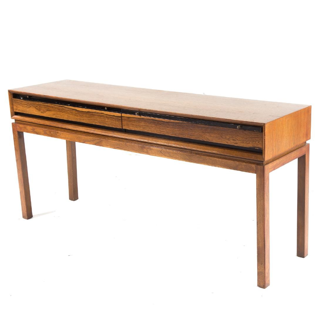 Cabinet-made Mid-Century Modern teakwood server - 2