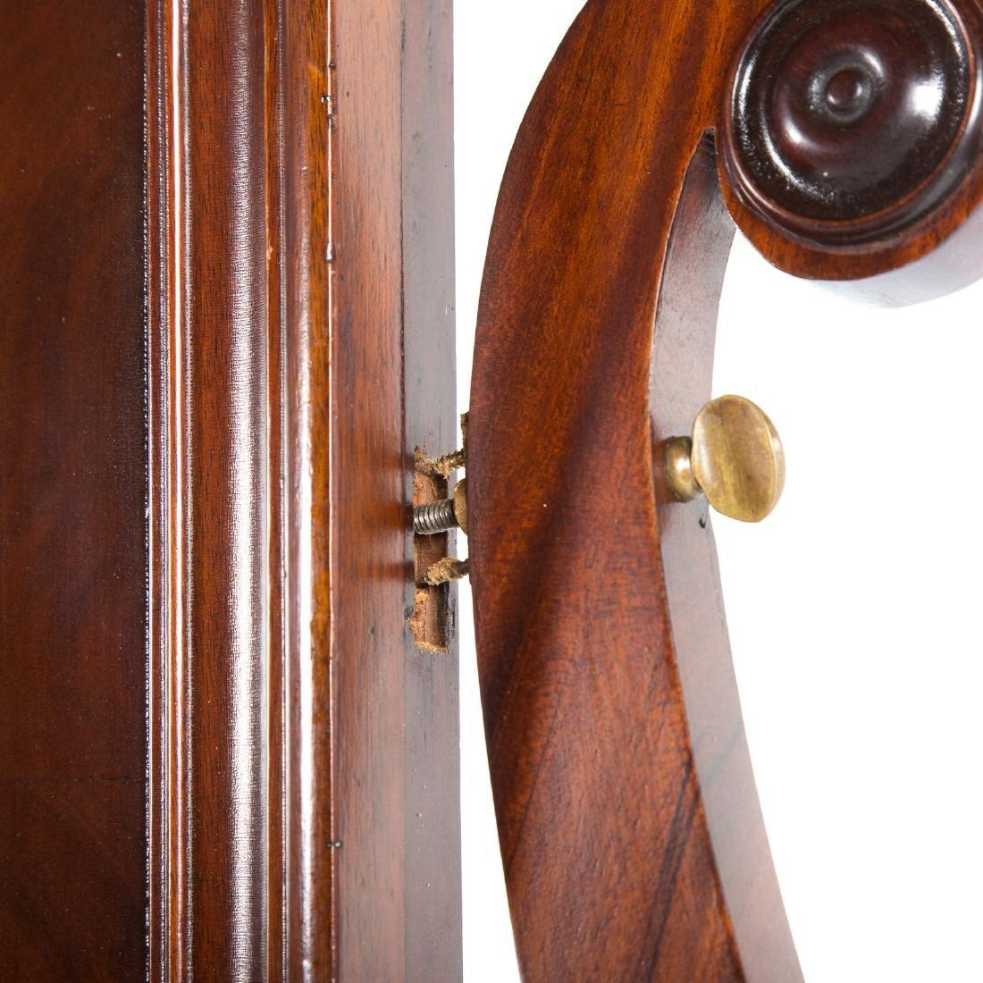 Classical Revival mahogany dressing table - 6