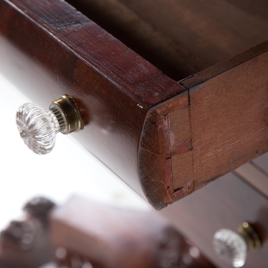 Classical Revival mahogany dressing table - 8