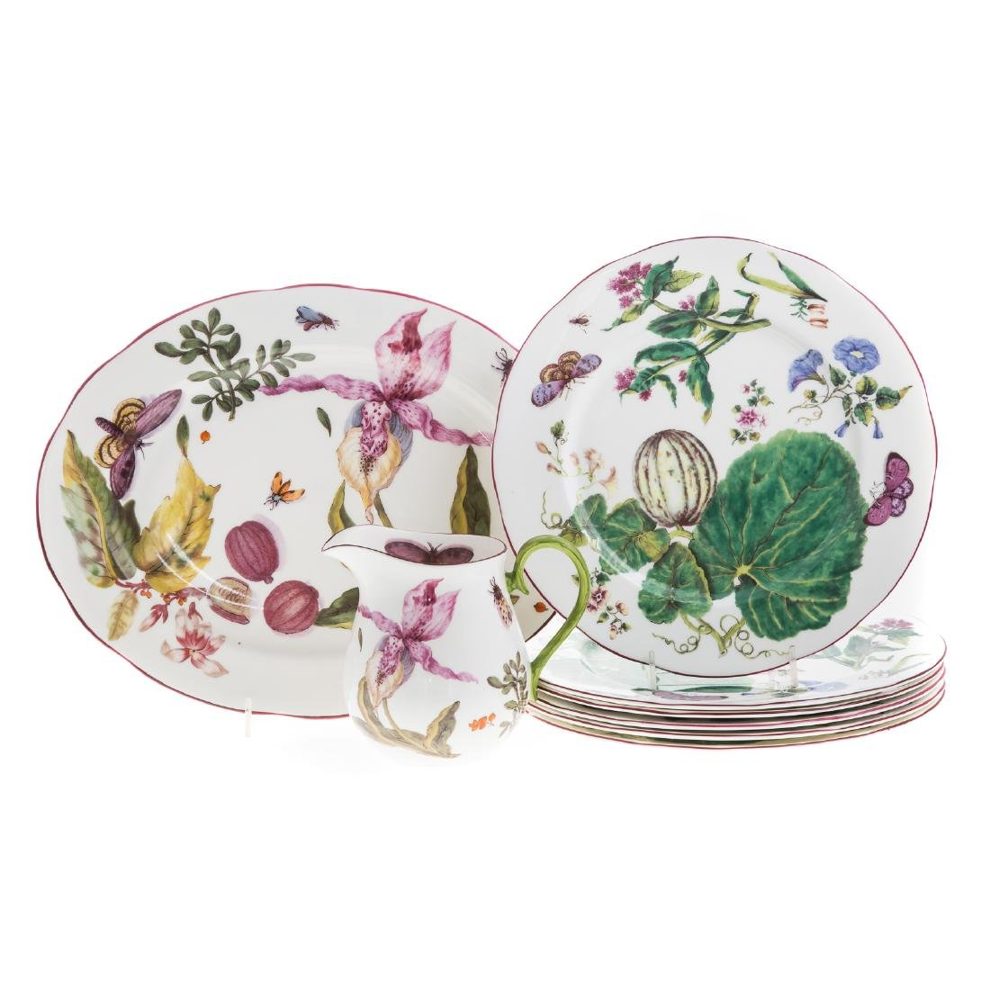 Eight pieces Royal Collection china