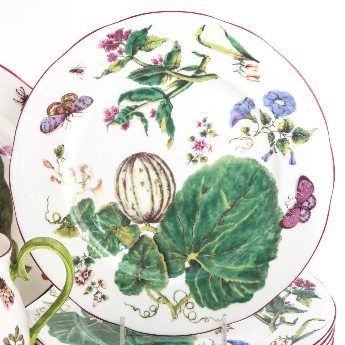 Eight pieces Royal Collection china - 2