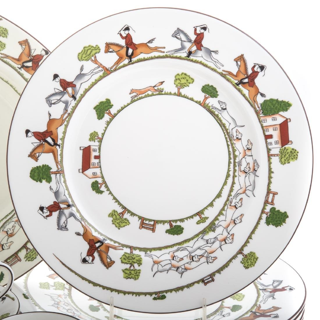 Wedgwood china 33-piece partial dinner service - 2