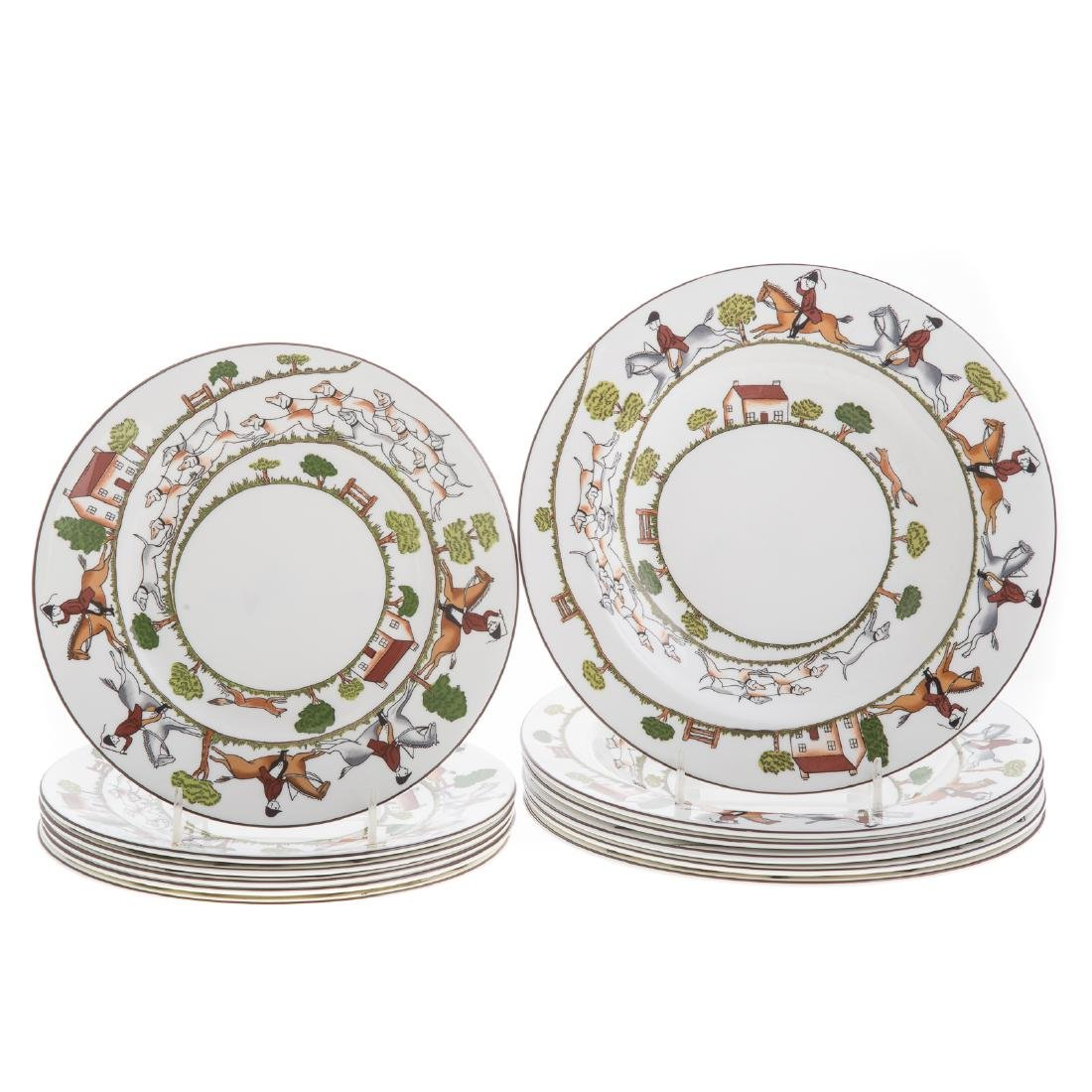 Wedgwood china 33-piece partial dinner service - 5