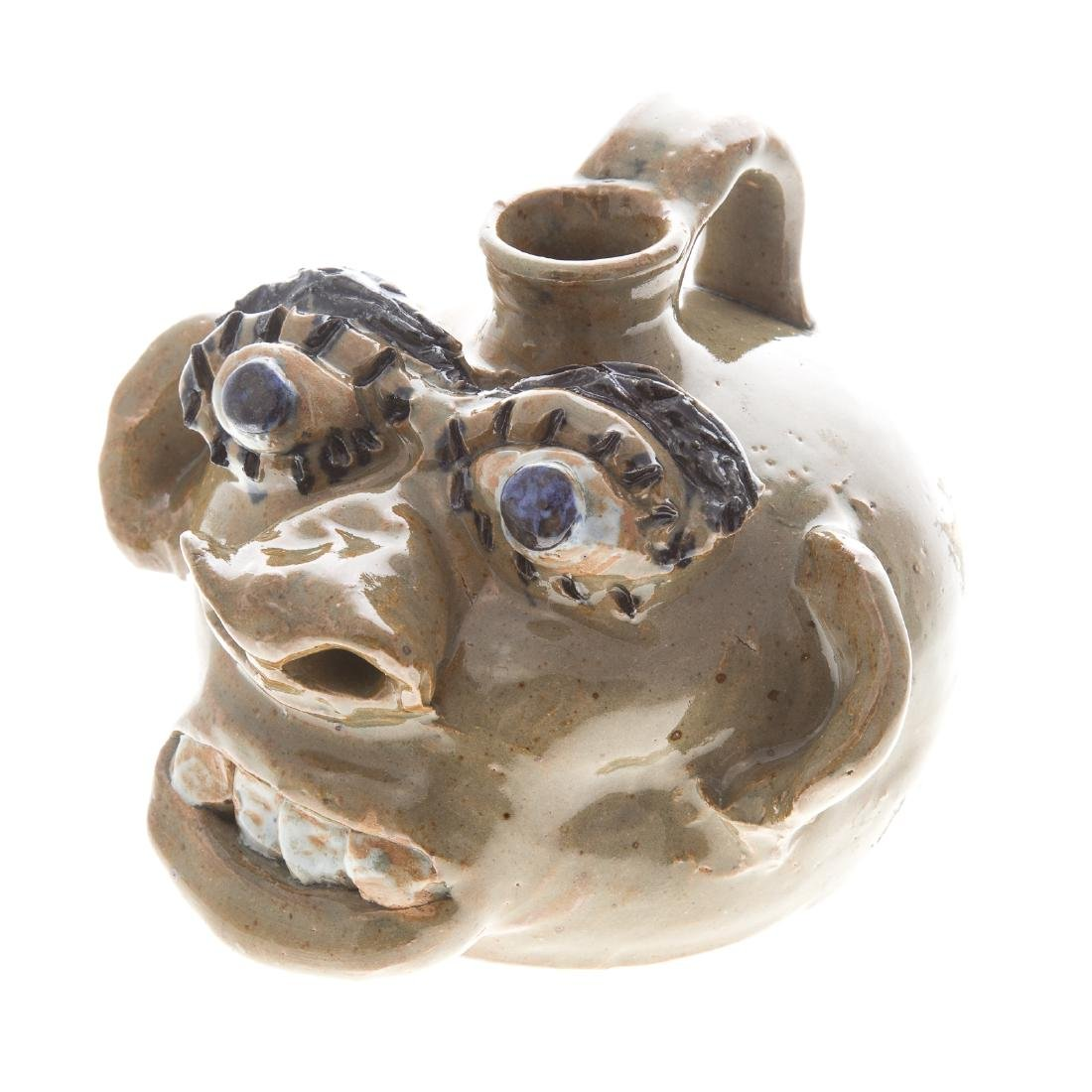 Three pieces of U.S. southern grotesque pottery - 5