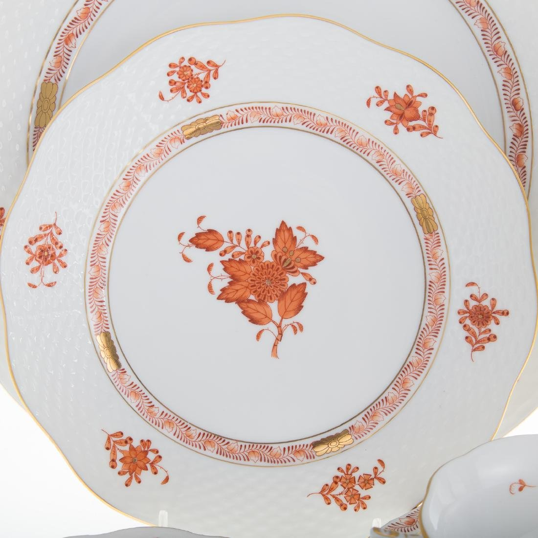 Herend china partial dinner service - 2