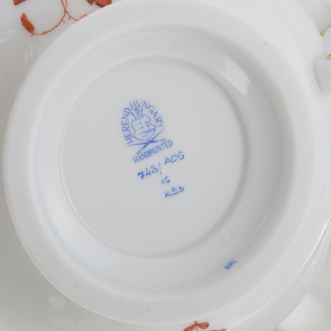 Herend china partial dinner service - 3
