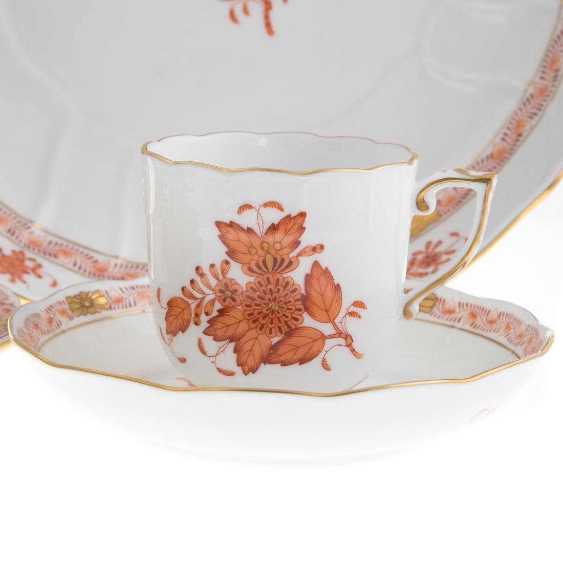Herend china partial dinner service - 4