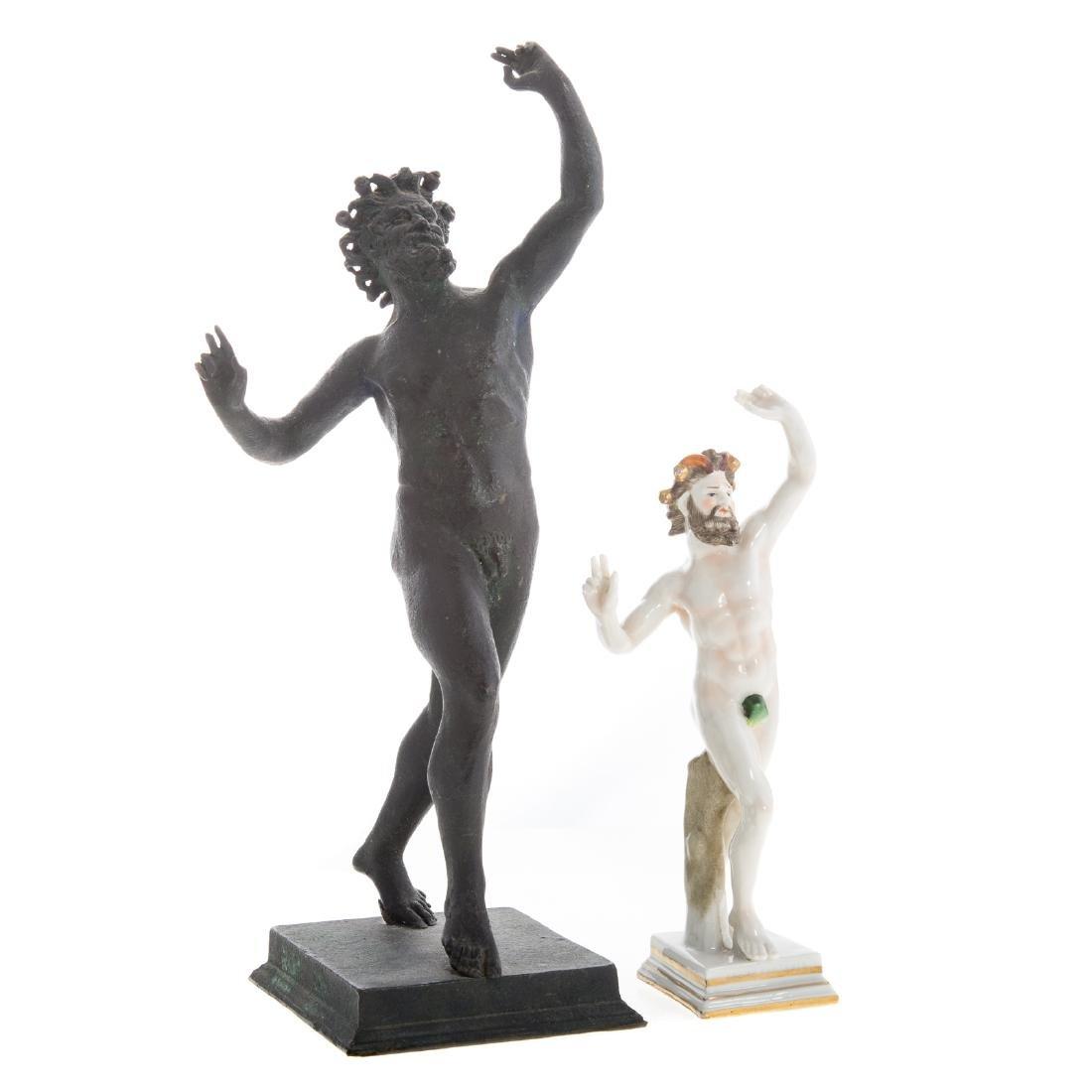 Italian Grande Tour bronze faun