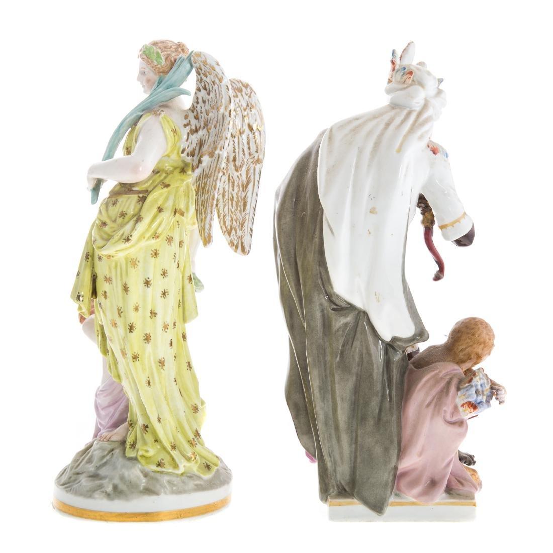 Two KPM porcelain figures - 5