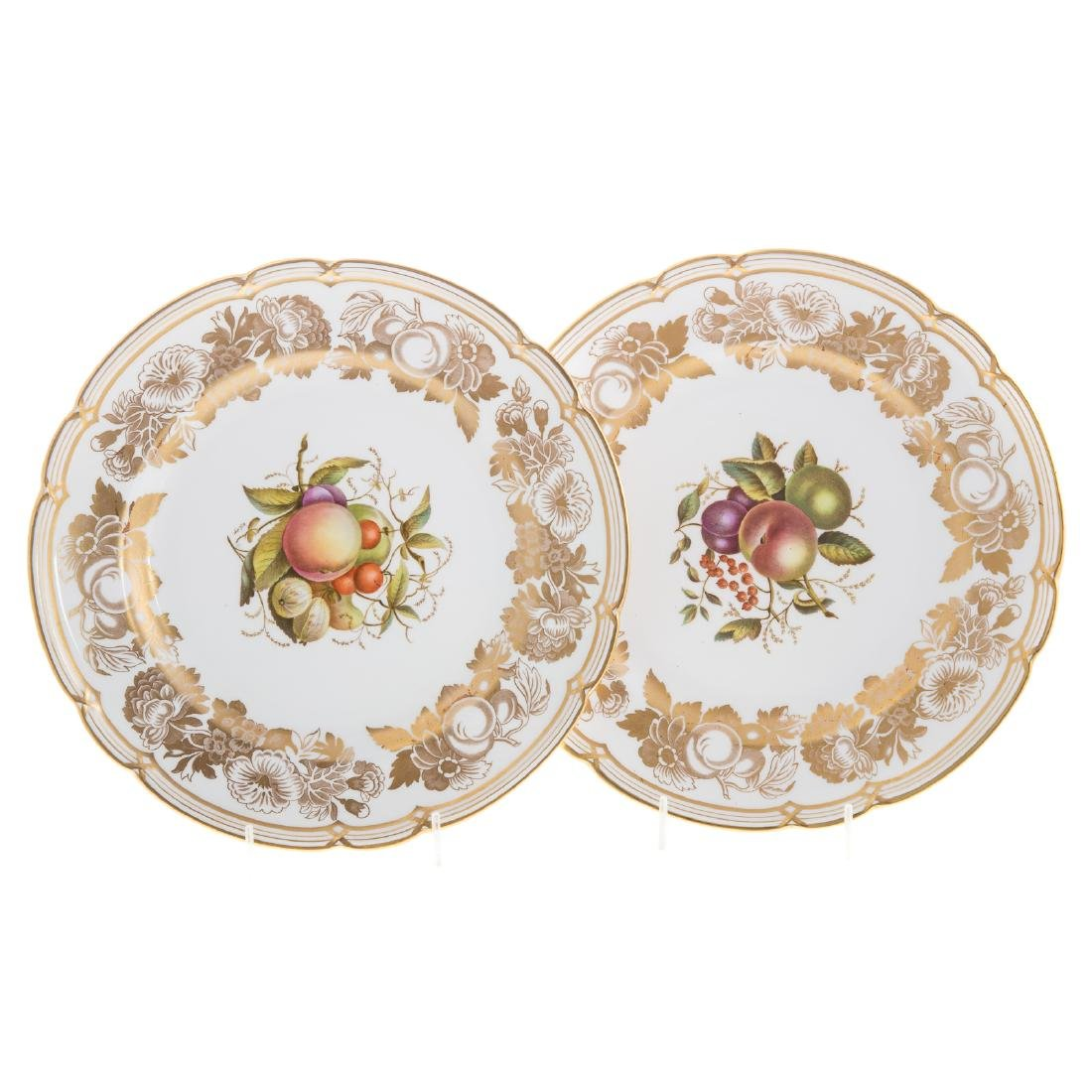 12 Spode bone china dinner plates - 4