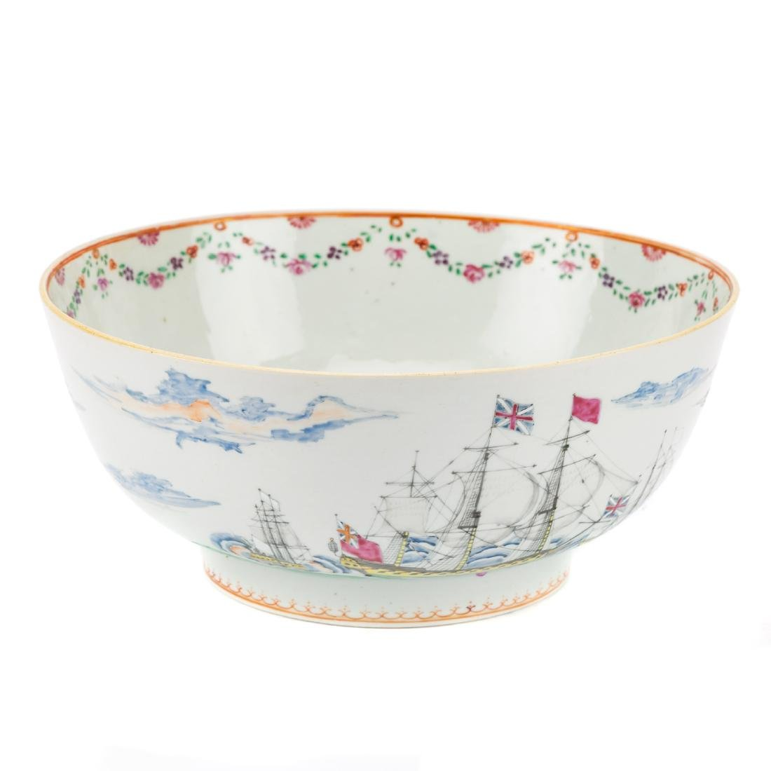 Rare Chinese Export porcelain bowl