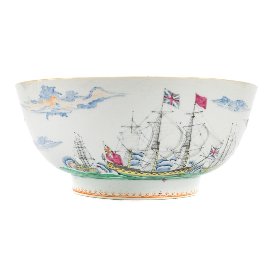 Rare Chinese Export porcelain bowl - 3