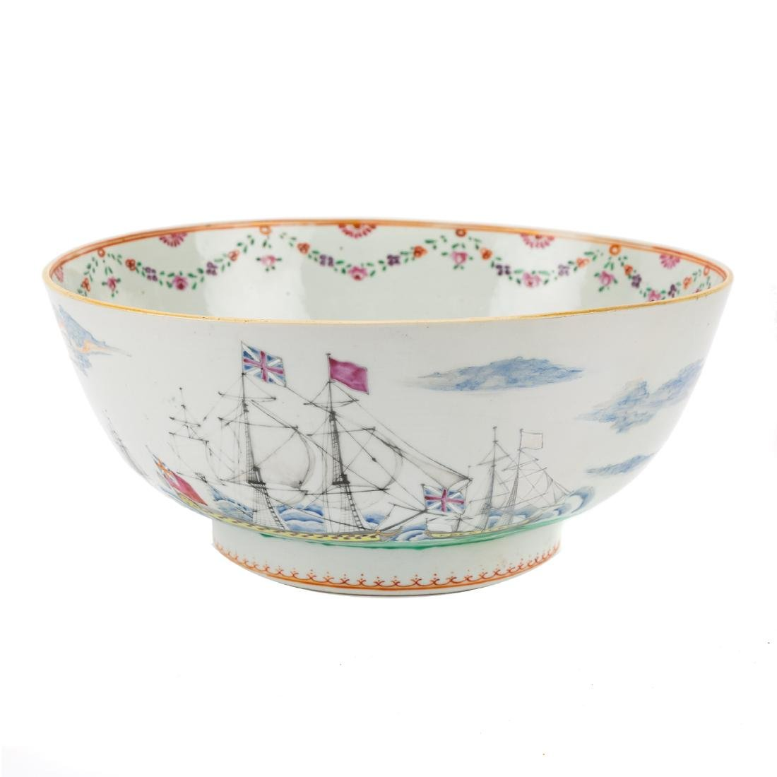 Rare Chinese Export porcelain bowl - 4