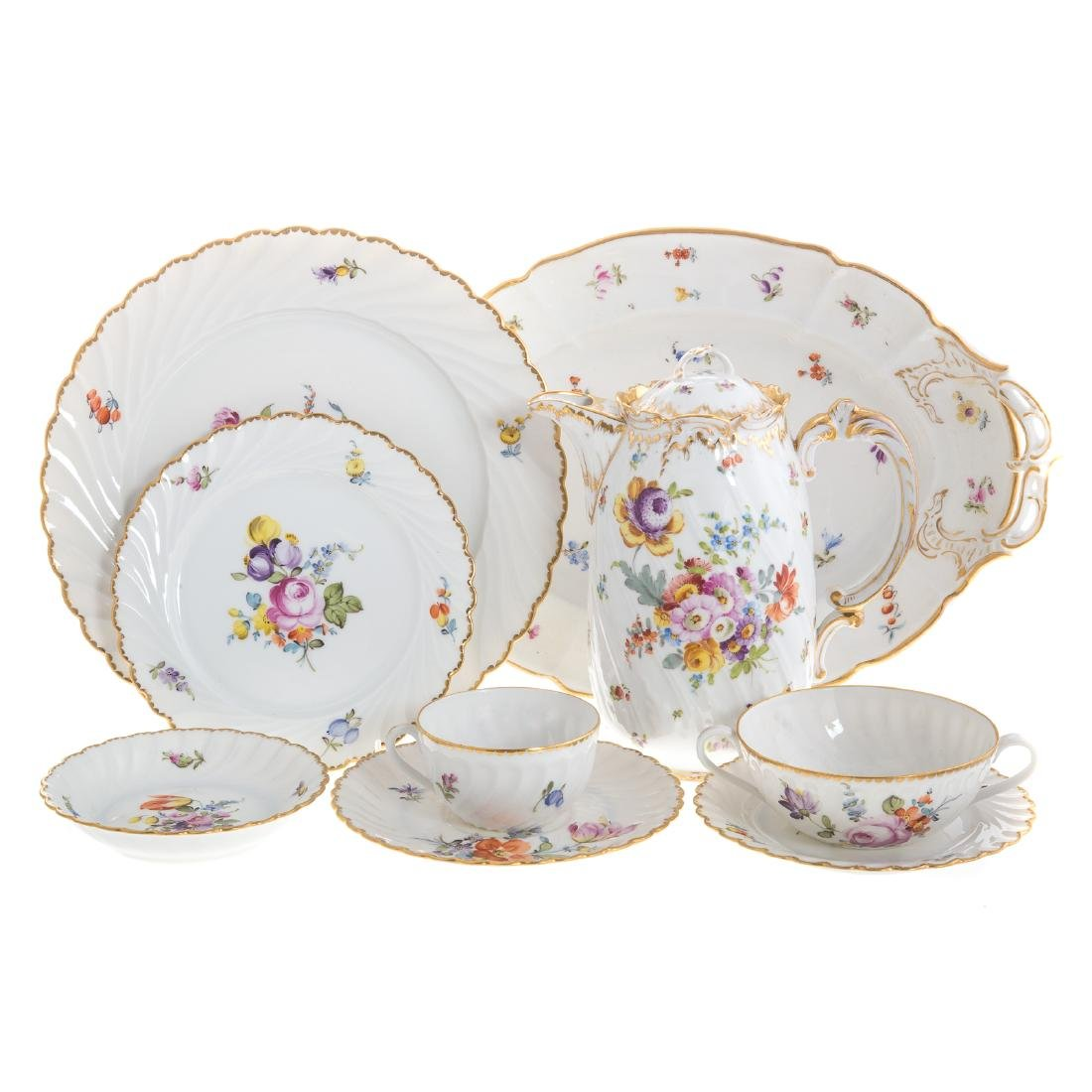 Nymphenburg porcelain dinner service