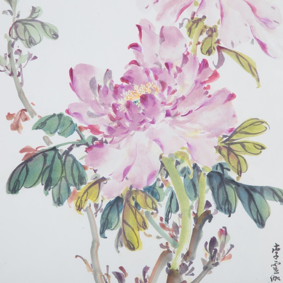 Chinese School 20th century gouache - 2