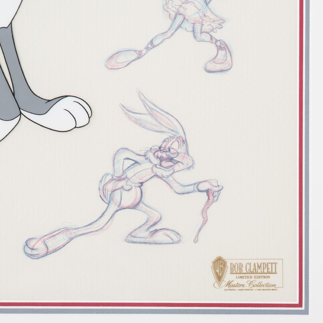 "Warner Bros. ""Bugs"" sericel by Bob Clampett - 3"