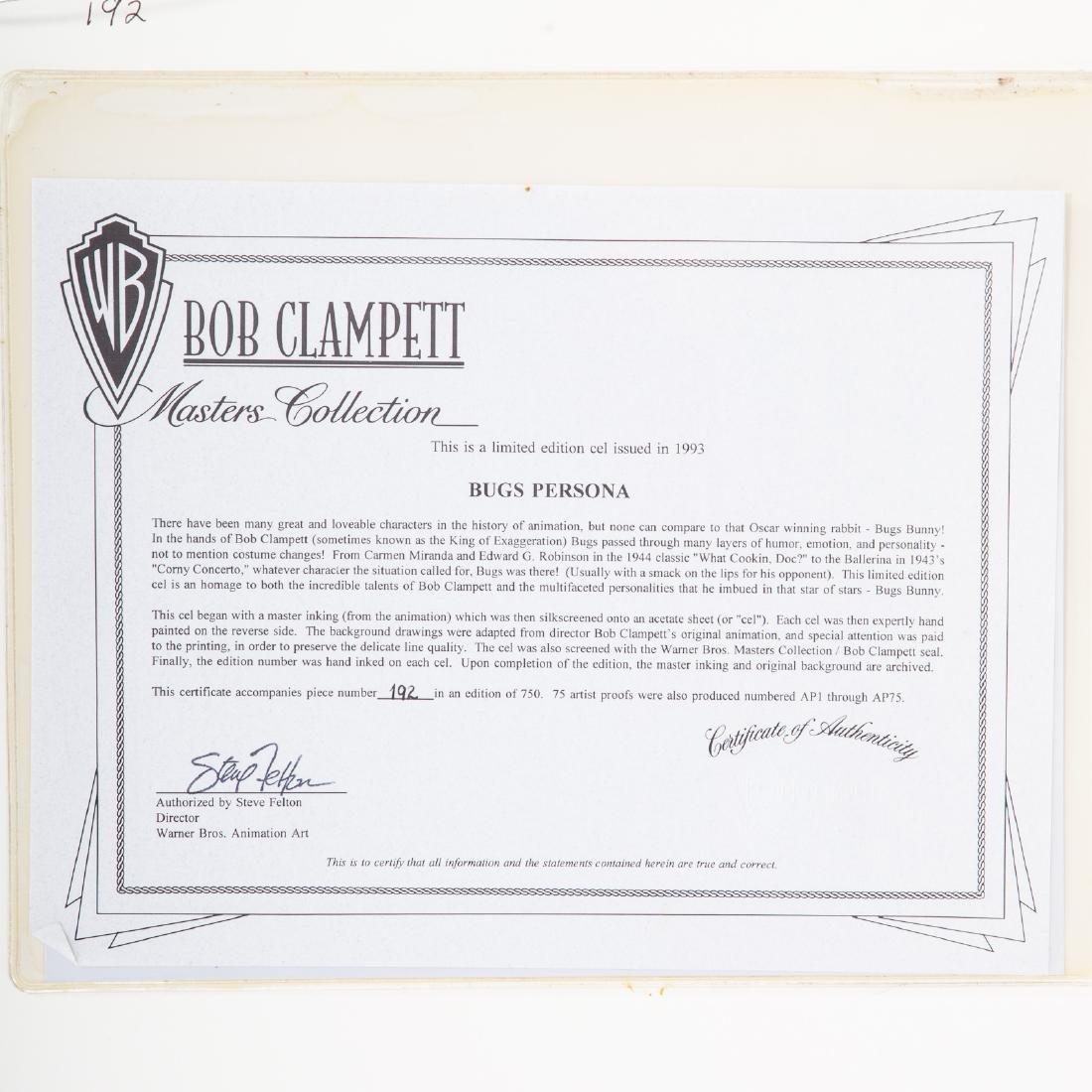 "Warner Bros. ""Bugs"" sericel by Bob Clampett - 5"