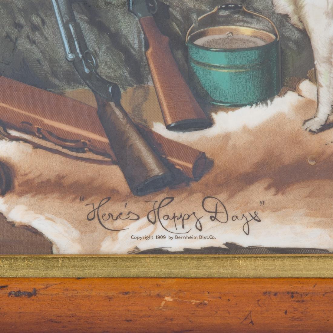 I.W. Harper Whiskey Vitrolite advertising sign - 3