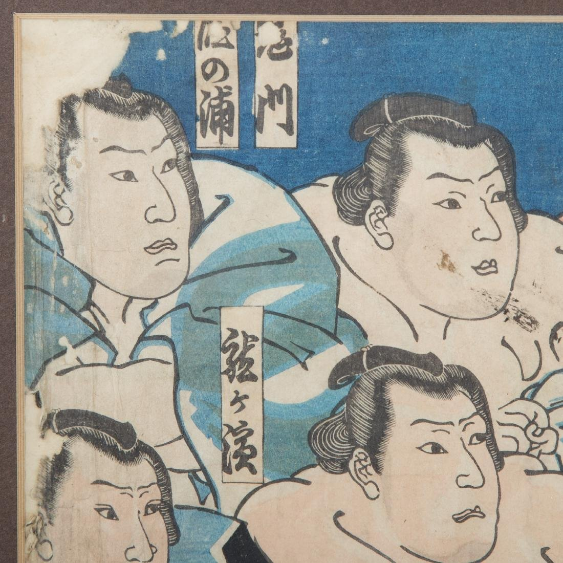 Two Japanese color woodblock prints - 4