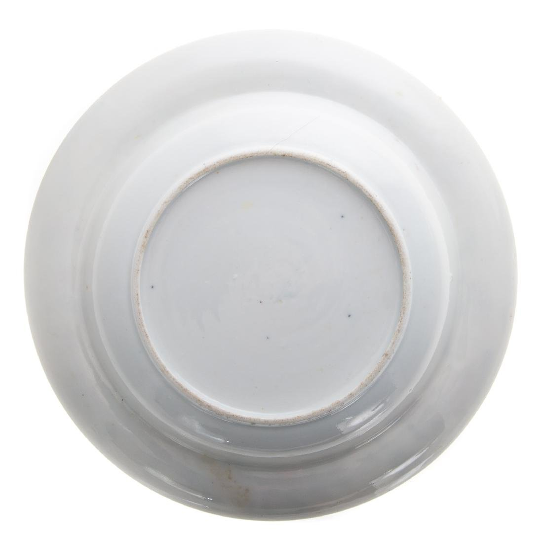 Six Chinese Export Famille Rose soup plates - 3