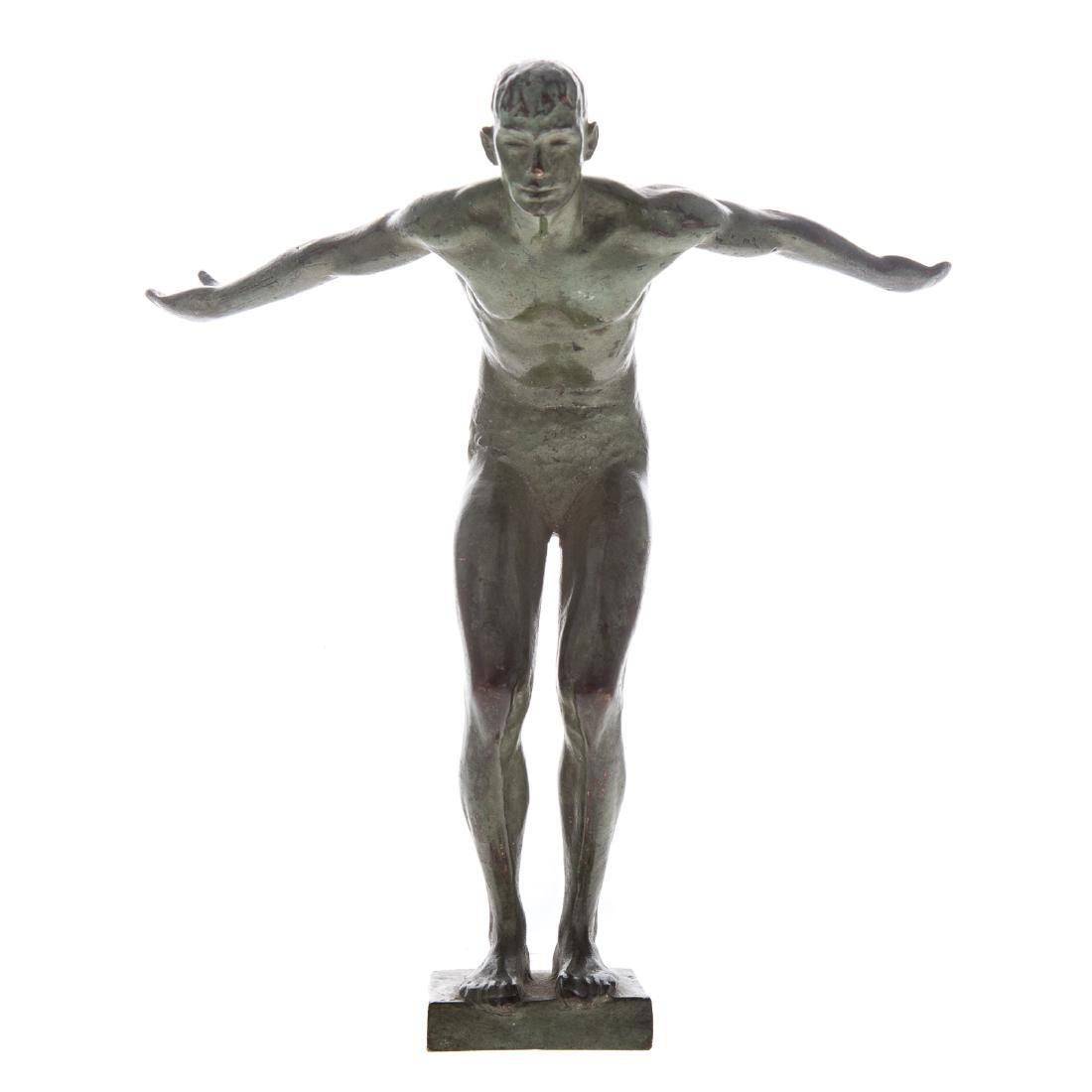 Joseph Brown. Diver, bronze - 2