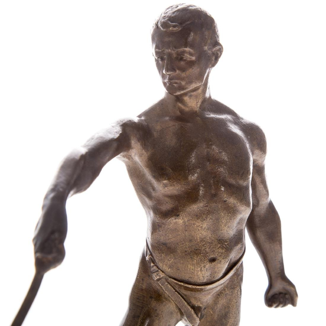 Continental bronze of Fencer - 4