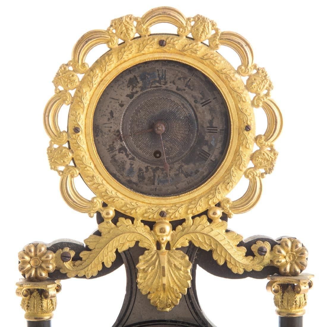 French Empire mantel clock - 3