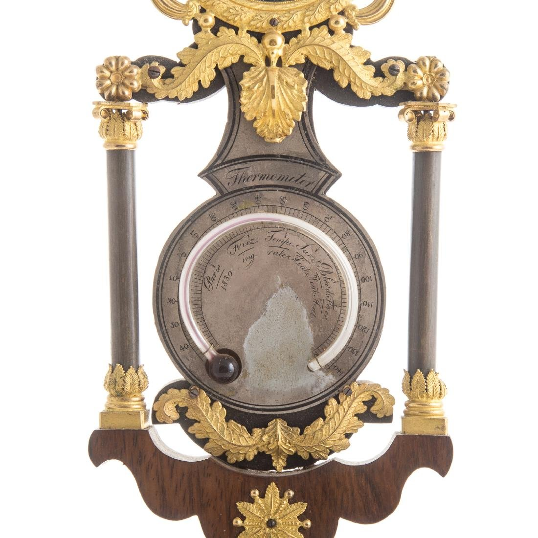 French Empire mantel clock - 4