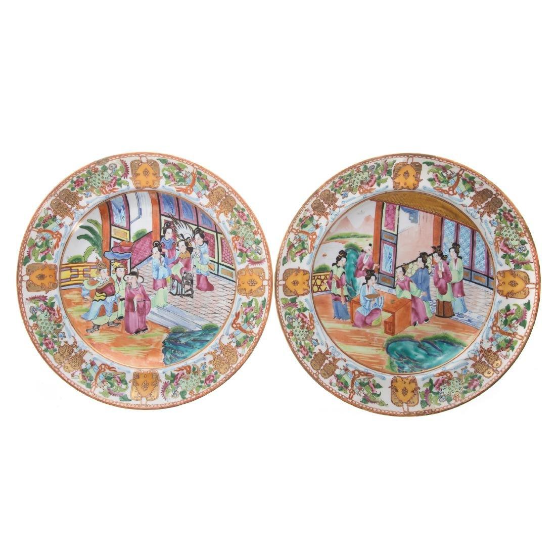 Five Chinese Export Rose Mandarin articles - 6
