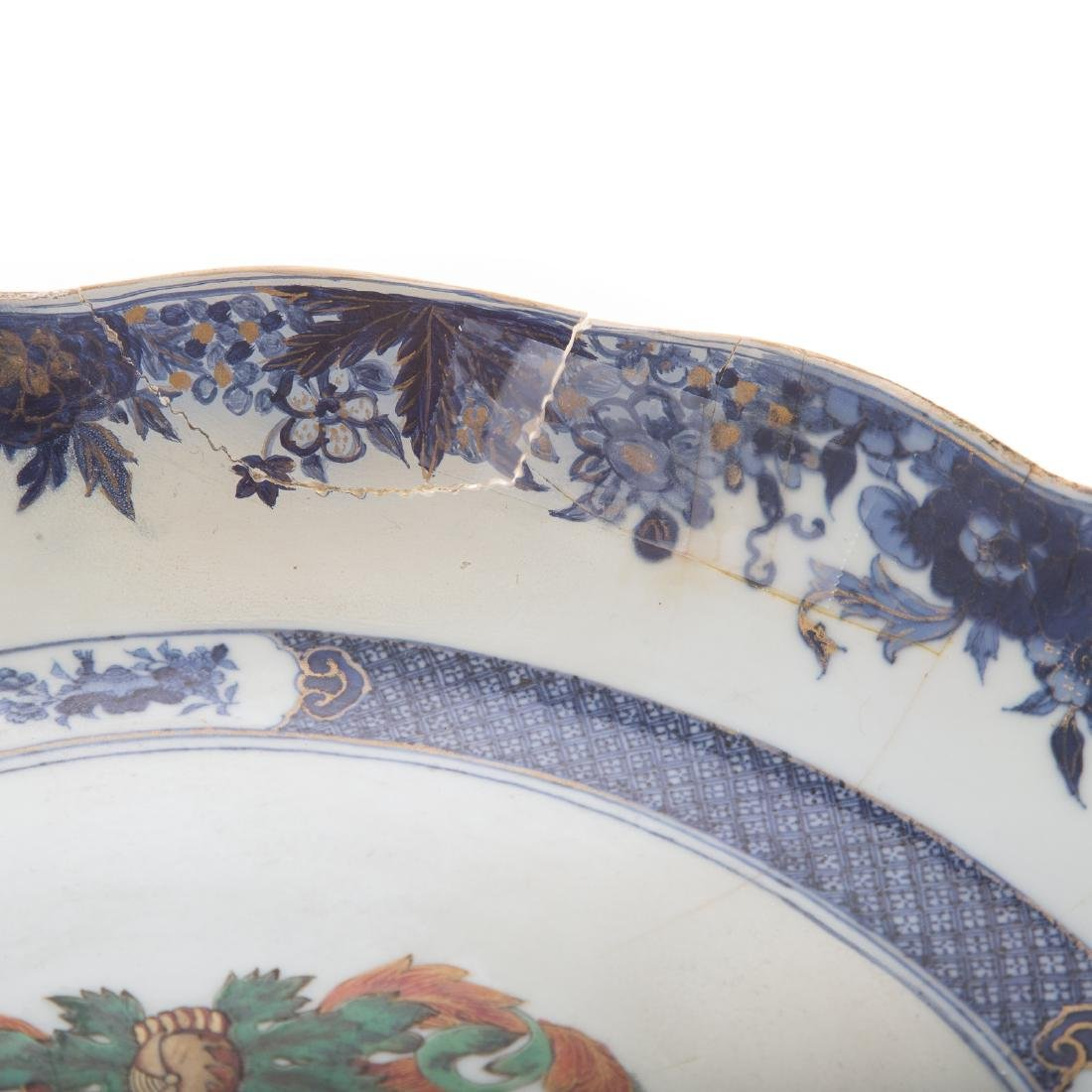 Chinese Export armorial bowl - 3