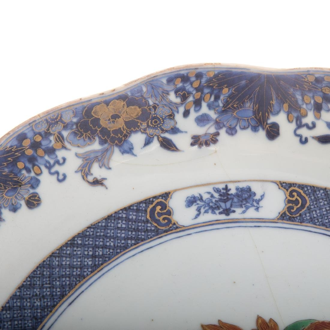 Chinese Export armorial bowl - 4
