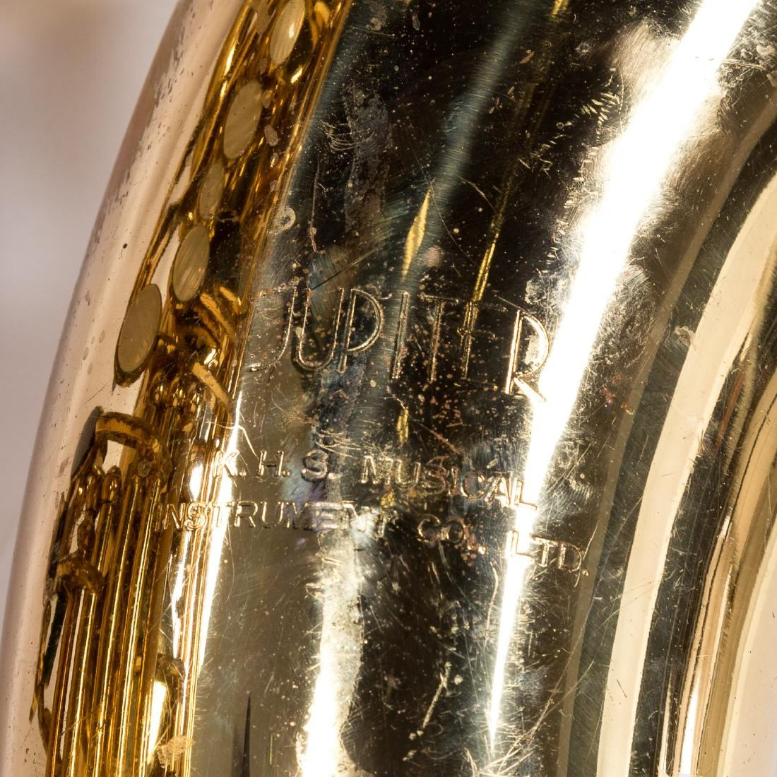 K.H.S. Jupiter alto saxophone - 5