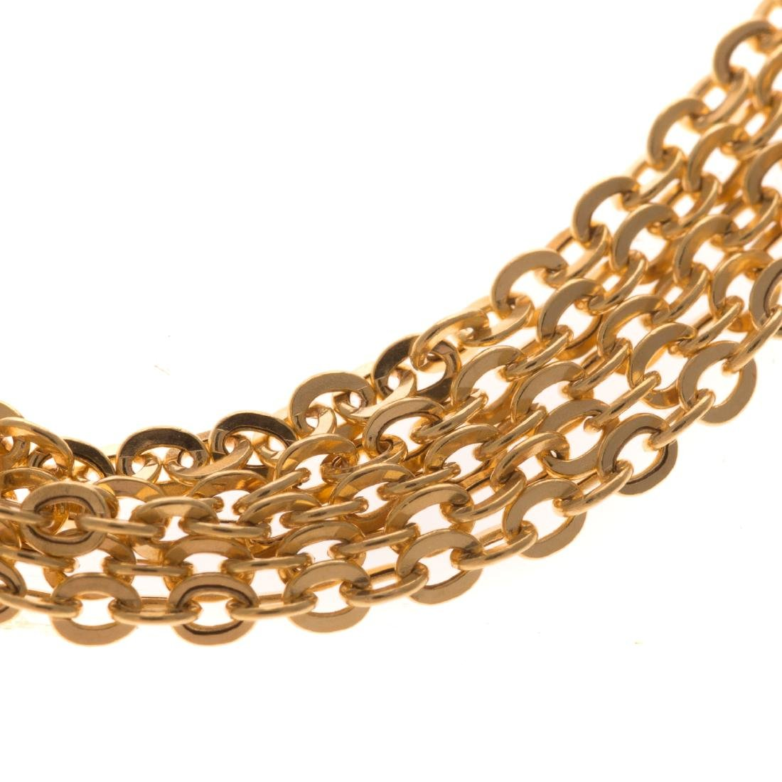 Two Lady's Necklaces in 14K Gold - 4