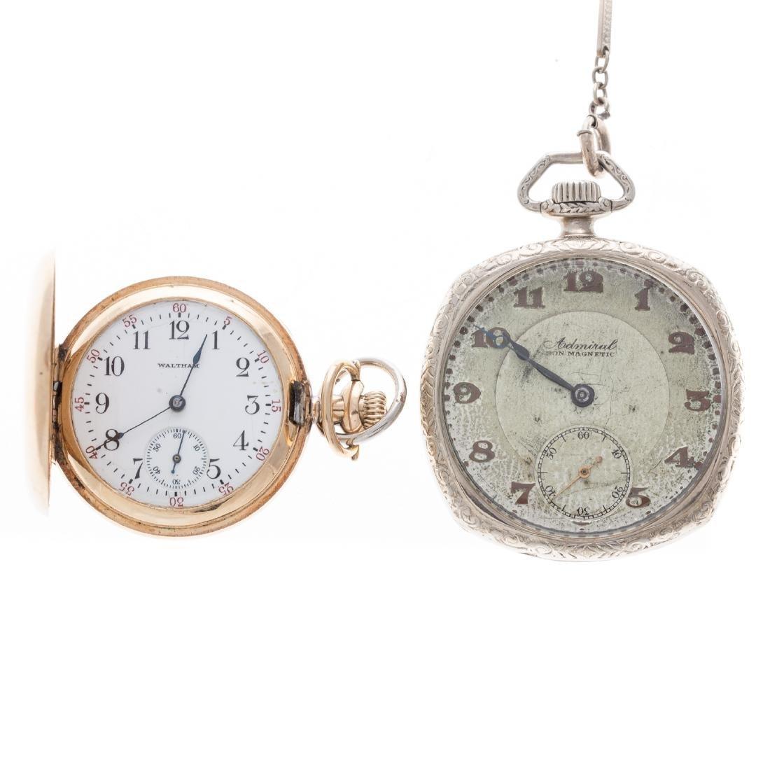 Two Gentlemen's Vintage Pocket Watches