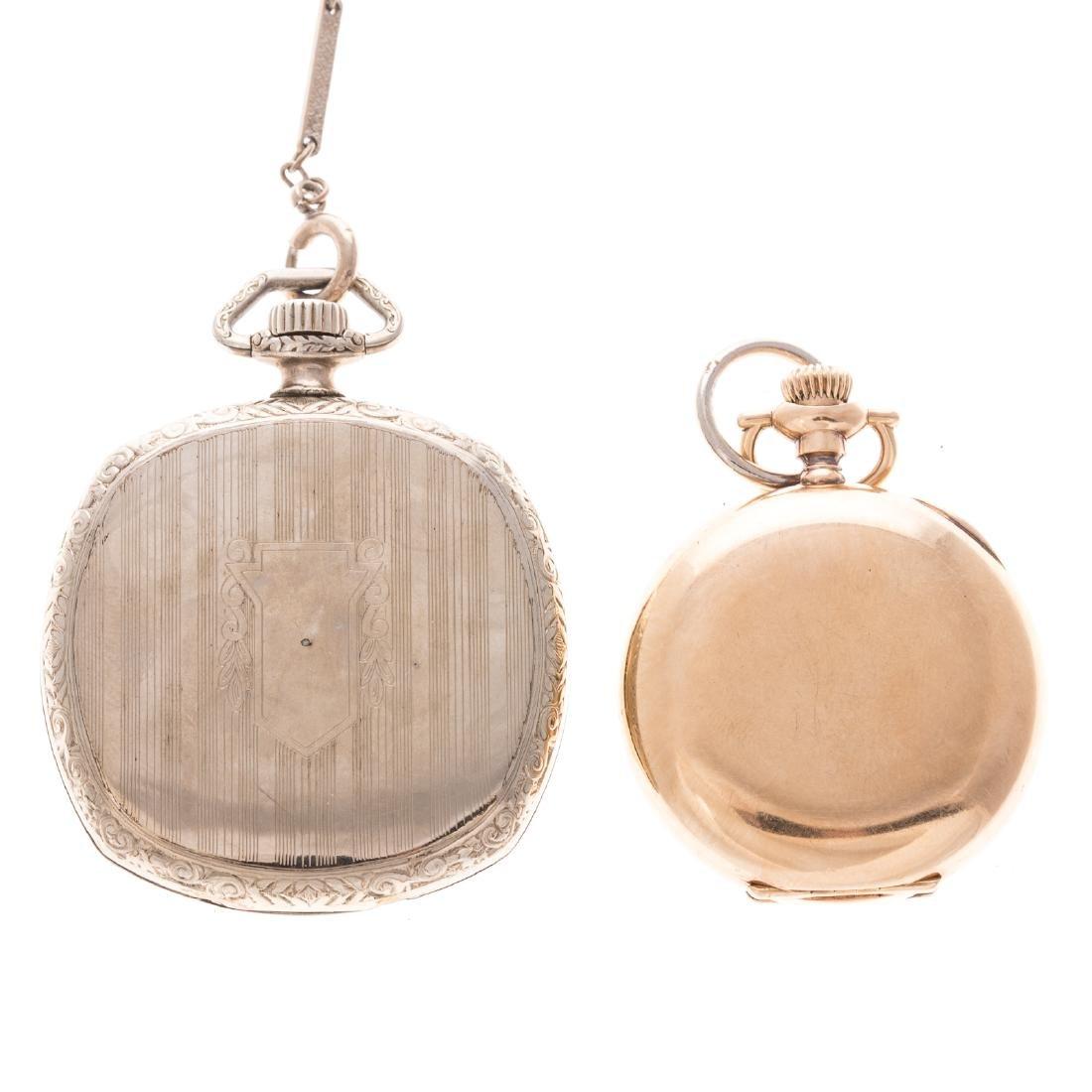Two Gentlemen's Vintage Pocket Watches - 4