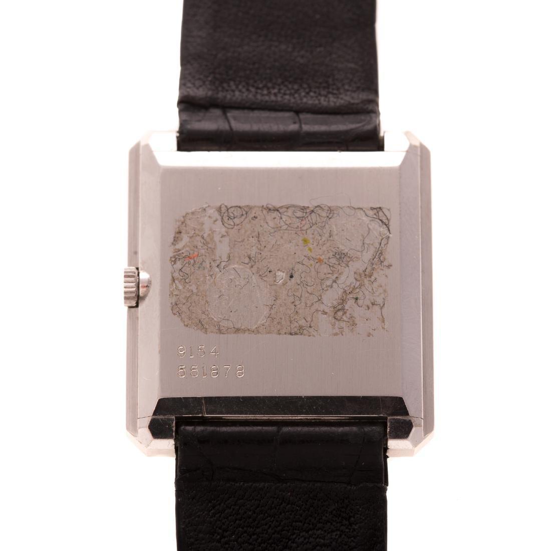A Gentlemen's Piaget Watch with Diamonds in 18K - 4