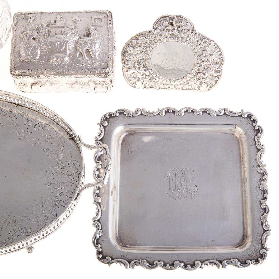 American & Continental silver vanity items - 2