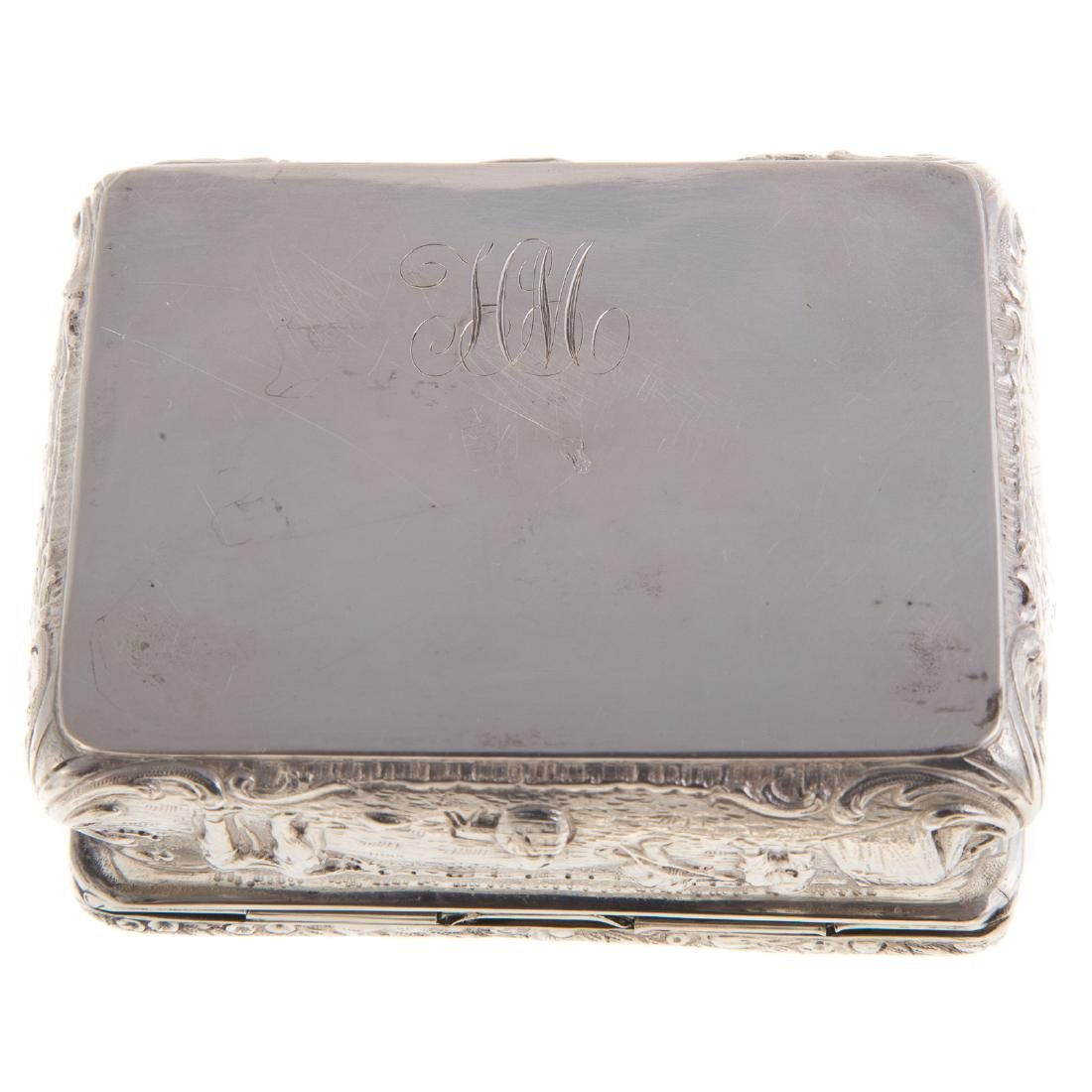 American & Continental silver vanity items - 7