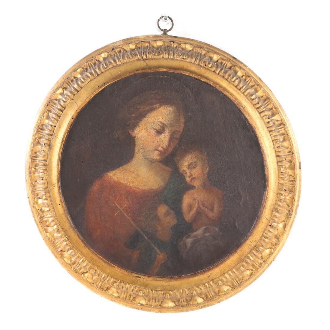 Italian School, 17th century. Madonna and Child
