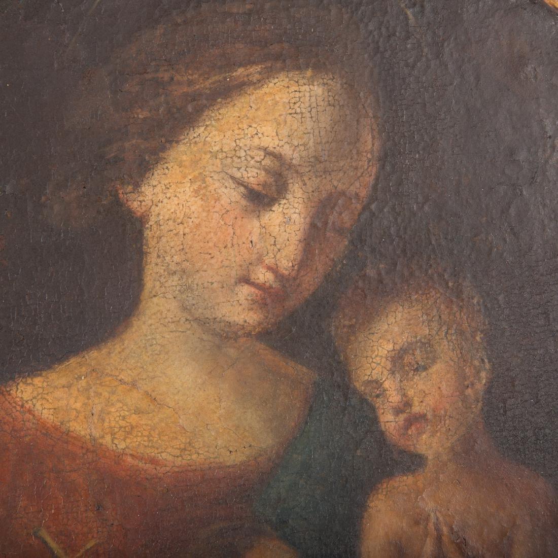 Italian School, 17th century. Madonna and Child - 2