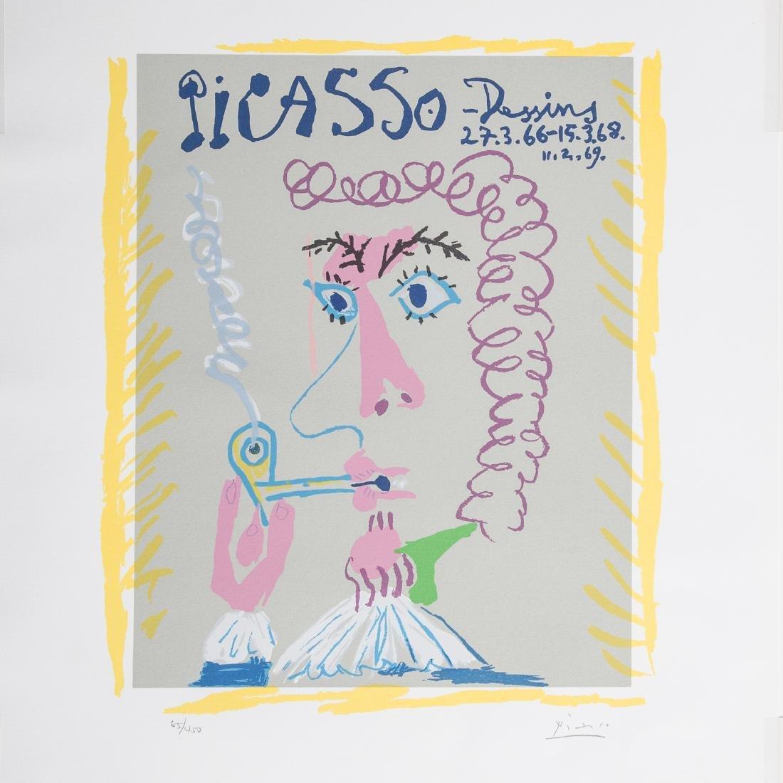"Pablo Picasso. ""Dessins,"" lithograph - 2"