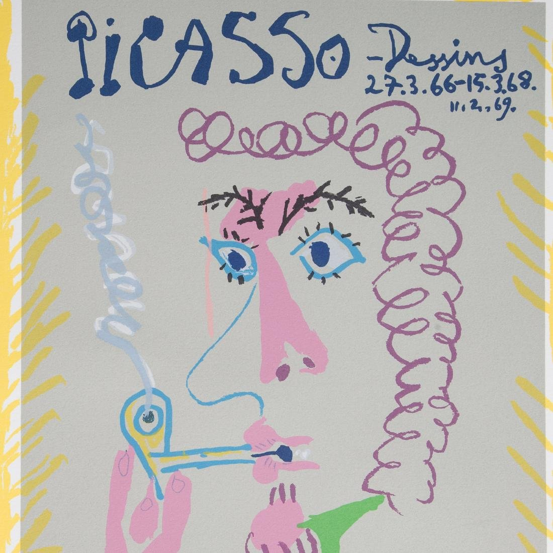 "Pablo Picasso. ""Dessins,"" lithograph - 3"